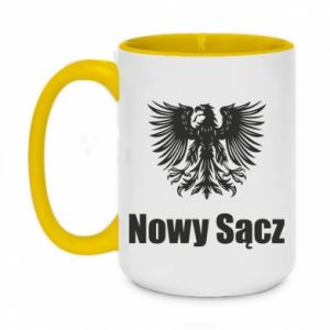 Two-toned mug 450ml Nowy Sacz