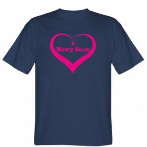 T-shirt Inscription - I love Nowy Sacz