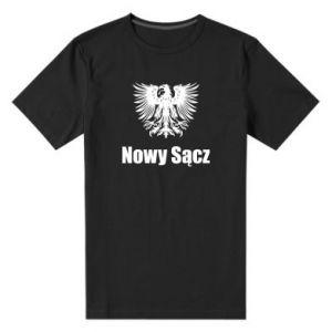 Męska premium koszulka Nowy Sącz - PrintSalon