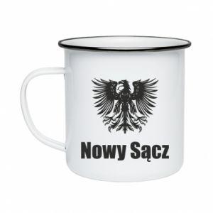 Kubek emaliowane Nowy Sącz - PrintSalon