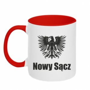 Two-toned mug Nowy Sacz