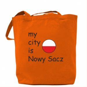 Bag My city is Nowy Sacz