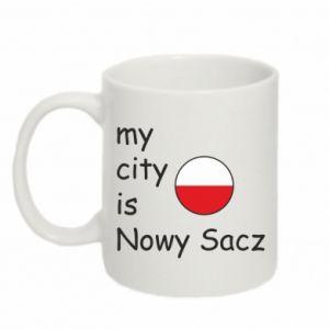 Mug 330ml My city is Nowy Sacz