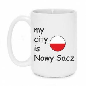 Kubek 450ml My city is Nowy Sacz - PrintSalon