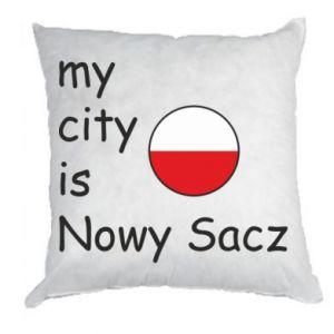 Pillow My city is Nowy Sacz