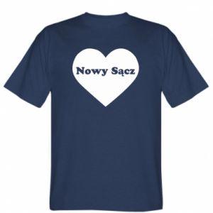 Koszulka Kocham Nowy Sącz - PrintSalon