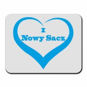 Podkładka pod mysz Napis - I love Nowy Sacz