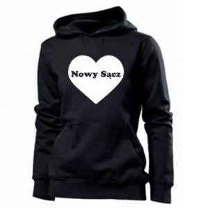 Women's hoodies I love Nowy Sacz
