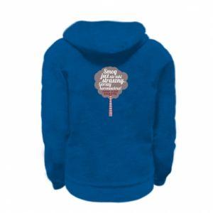 Kid's zipped hoodie % print% New enemy