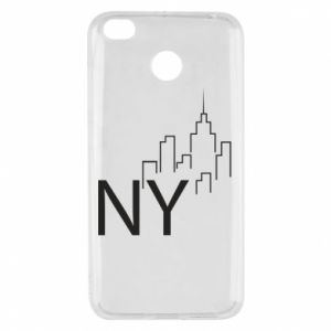 Etui na Xiaomi Redmi 4X NY city