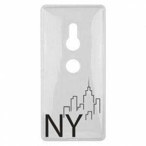 Etui na Sony Xperia XZ2 NY city