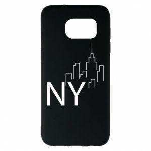 Etui na Samsung S7 EDGE NY city