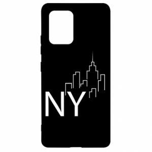Etui na Samsung S10 Lite NY city
