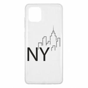 Etui na Samsung Note 10 Lite NY city