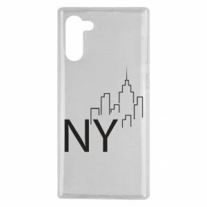 Etui na Samsung Note 10 NY city