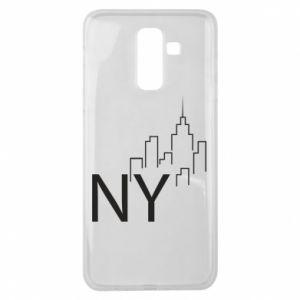 Etui na Samsung J8 2018 NY city