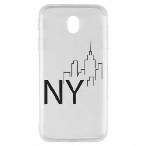 Etui na Samsung J7 2017 NY city