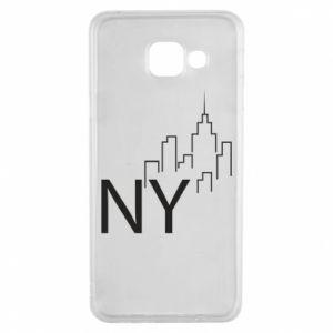 Etui na Samsung A3 2016 NY city