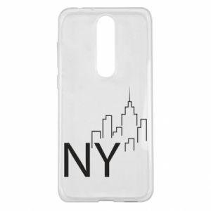 Etui na Nokia 5.1 Plus NY city