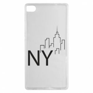 Etui na Huawei P8 NY city