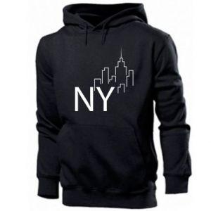 Men's hoodie NY city