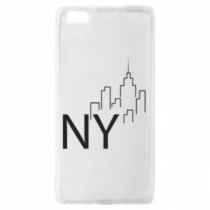 Etui na Huawei P 8 Lite NY city