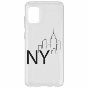 Etui na Samsung A31 NY city