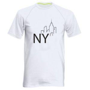 Koszulka sportowa męska NY city