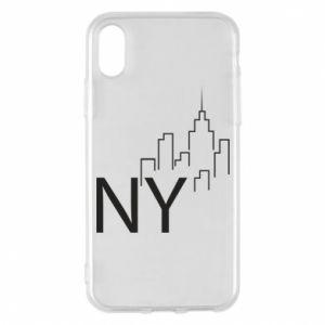 Etui na iPhone X/Xs NY city