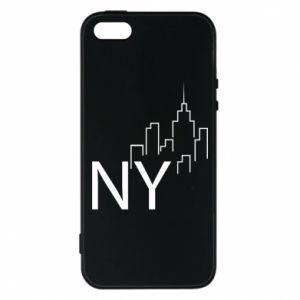 Etui na iPhone 5/5S/SE NY city