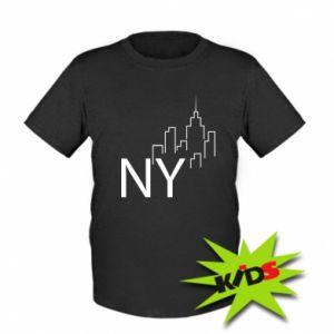 Dziecięcy T-shirt NY city