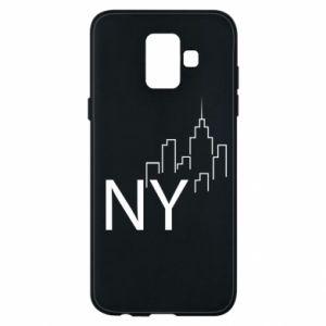 Etui na Samsung A6 2018 NY city