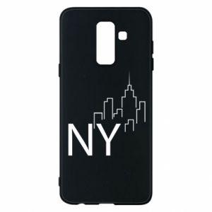 Etui na Samsung A6+ 2018 NY city