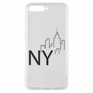 Etui na Huawei Y6 2018 NY city