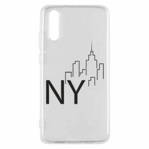 Etui na Huawei P20 NY city