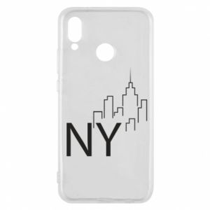 Etui na Huawei P20 Lite NY city