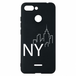 Etui na Xiaomi Redmi 6 NY city