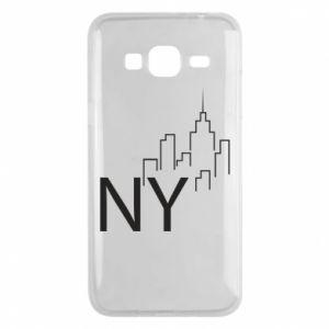 Etui na Samsung J3 2016 NY city