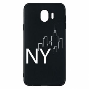 Etui na Samsung J4 NY city