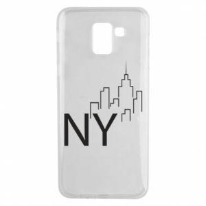 Etui na Samsung J6 NY city