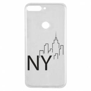Etui na Huawei Y7 Prime 2018 NY city