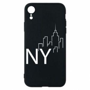 Etui na iPhone XR NY city