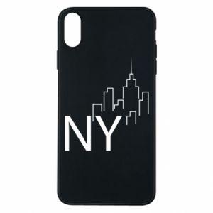 Etui na iPhone Xs Max NY city