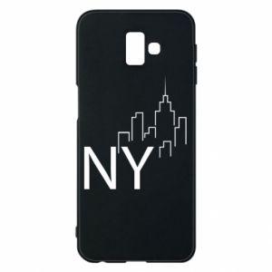Etui na Samsung J6 Plus 2018 NY city