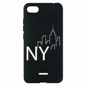 Etui na Xiaomi Redmi 6A NY city