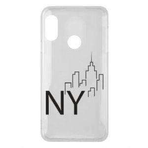Etui na Mi A2 Lite NY city
