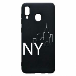 Etui na Samsung A30 NY city