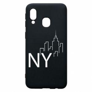 Etui na Samsung A40 NY city