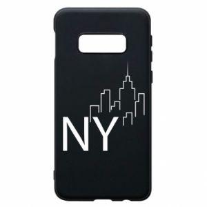 Etui na Samsung S10e NY city
