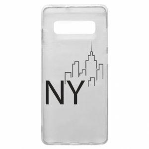 Etui na Samsung S10+ NY city